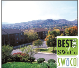 "Awards | The Pines Apartments in Roanoke Virginia voted ""Best Apartment Community"" 2014"